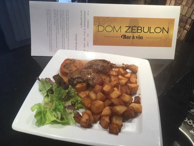 Dom Zebulon 78 Gastronomie française